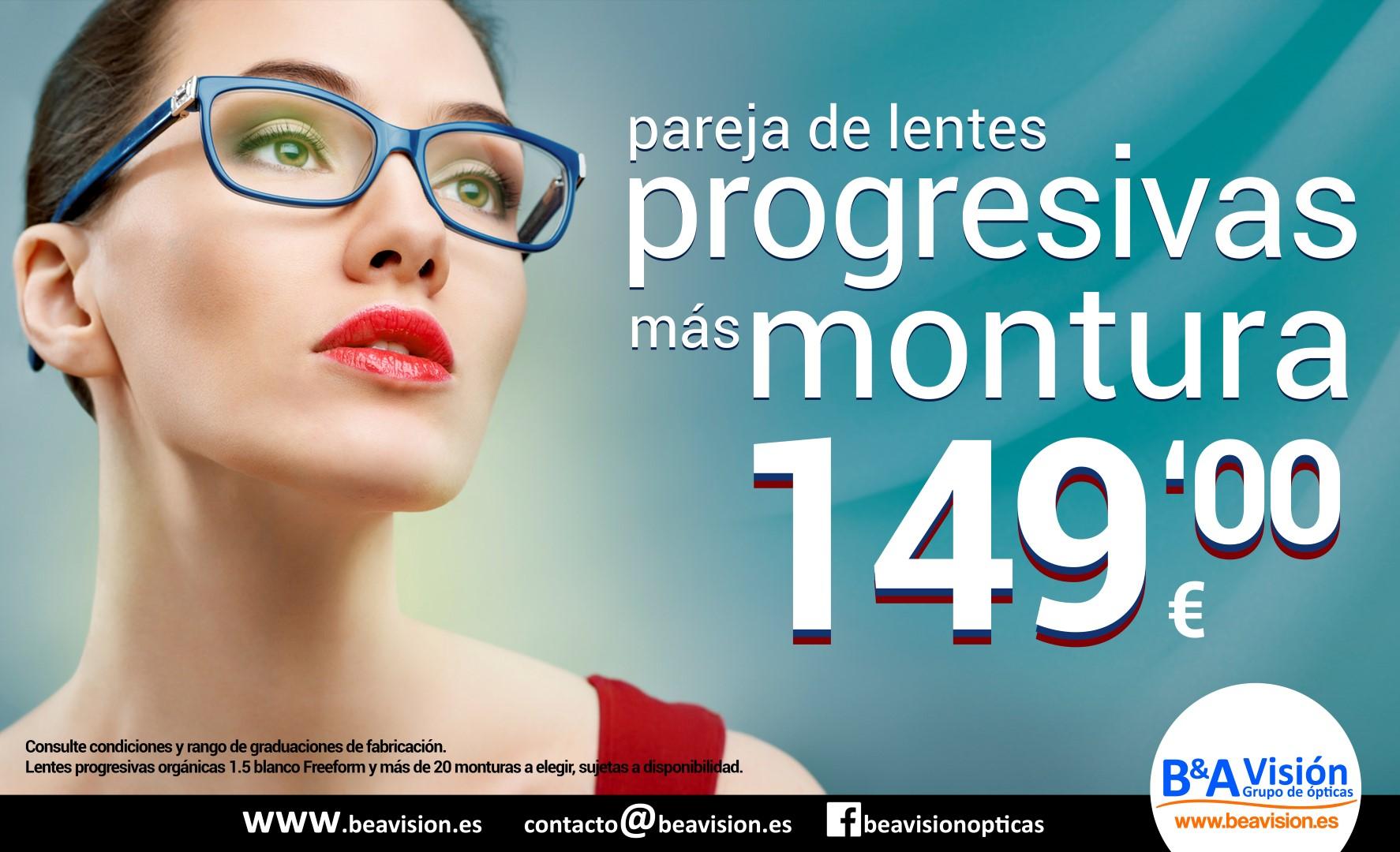 Oferta Gafas Progresivas - B A Vision cda1dc174742